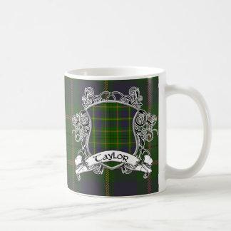 Taylor Tartan Shield Coffee Mug