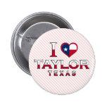 Taylor, Texas Button