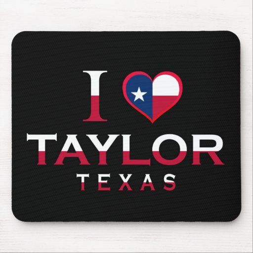 Taylor, Texas Mouse Pad
