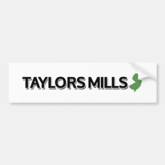 Taylors Mills, New Jersey Bumper Stickers