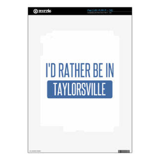 Taylorsville Skin For The iPad 2