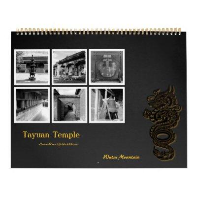 Tayuan Temple Calendar