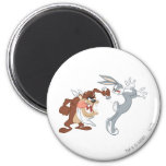 TAZ™ and BUGS BUNNY™ 2 Inch Round Magnet