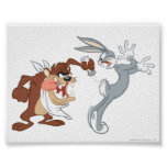 TAZ™ and BUGS BUNNY™ Poster