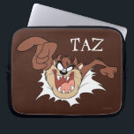 """TAZ™ Bursting Through Page Laptop Sleeve<br><div class=""""desc"""">LOONEY TUNES™ 