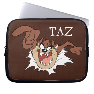 TAZ™ Bursting Through Page Laptop Sleeve