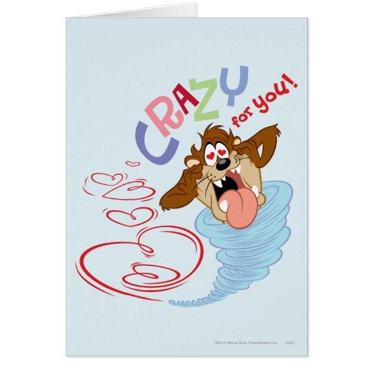 TAZ™ Crazy for you! Card