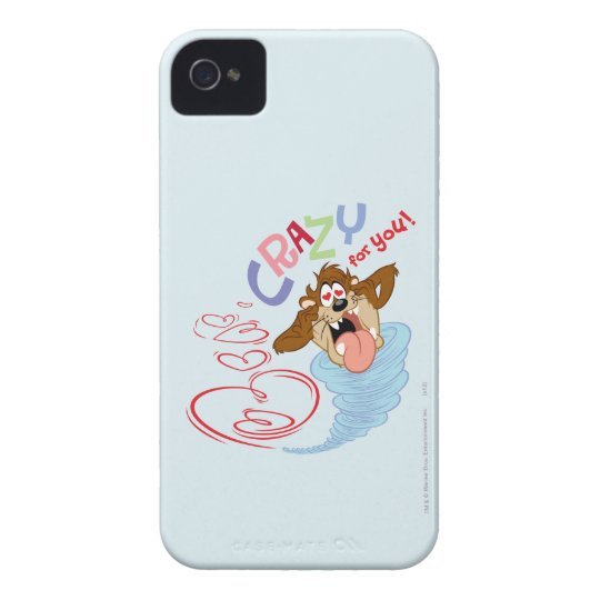 TAZ™ Crazy for you! iPhone 4 Case-Mate Case