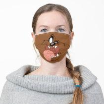 TAZ™ Crazy Smile Adult Cloth Face Mask