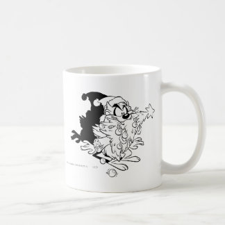 TAZ™ eating Christmas tree Coffee Mug