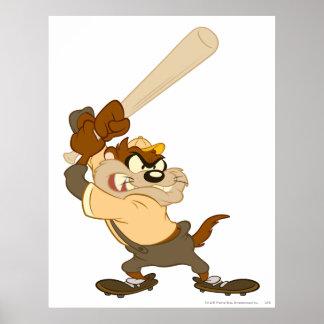 TAZ™ el bateador del home run Poster