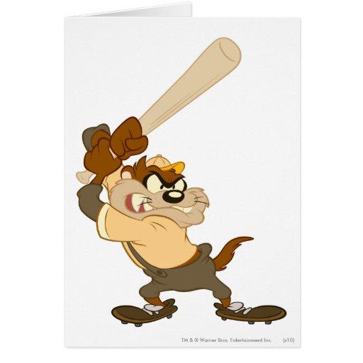 TAZ™ el bateador del home run Tarjeta De Felicitación