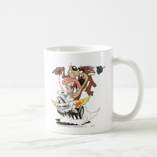 TAZ™ Furious Driving Classic White Coffee Mug