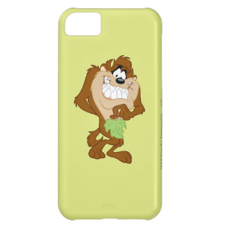 TAZ™ holding a leaf iPhone 5C Case