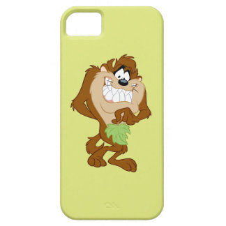 TAZ™ holding a leaf iPhone 5 Cases
