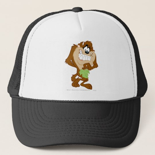 TAZ™ holding a leaf Trucker Hat