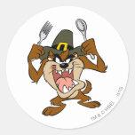 TAZ™ Hungry Classic Round Sticker