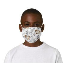 TAZ™ Line Art Color Pop Pattern Kids' Cloth Face Mask