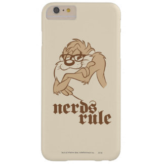 TAZ™ - Nerds Rule Barely There iPhone 6 Plus Case