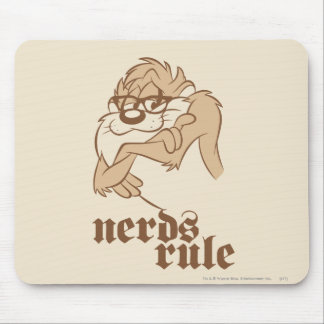 TAZ™ - Nerds Rule Mouse Pad