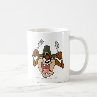 TAZ™ Pilgrim Thanksgiving in Color Coffee Mug