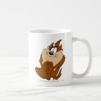 TAZ™ posing 4 Classic White Coffee Mug