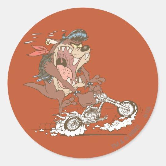 TAZ™ Slick Hog Classic Round Sticker
