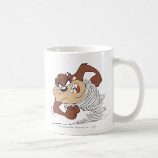 TAZ™ spinning fast Classic White Coffee Mug