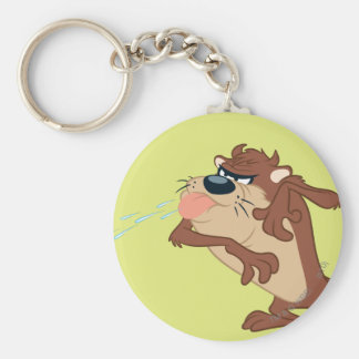 TAZ™ sticking out his tongue Key Chains