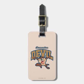 TAZ™ Tasmanian Devil Patch Bag Tag