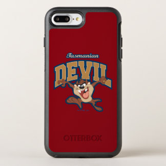 TAZ™ Tasmanian Devil Patch OtterBox Symmetry iPhone 8 Plus/7 Plus Case