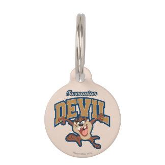 TAZ™ Tasmanian Devil Patch Pet ID Tag
