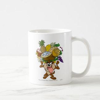 TAZ™ Thanksgiving Feast B/W 2 Coffee Mug
