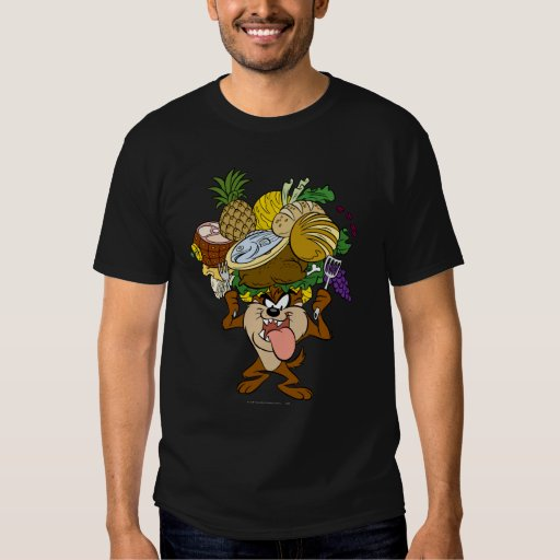 TAZ™ Thanksgiving Feast B/W 2 T-shirts