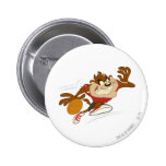 TAZ™ the Dribbling Cyclone 2 Inch Round Button