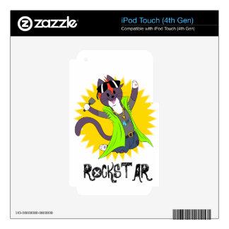 Taz the Rockstar iPod Touch 4G Skin