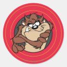 TAZ™ Through LOONEY TUNES™ Circles Classic Round Sticker