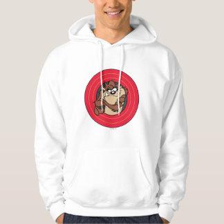 TAZ™ Through LOONEY TUNES™ Circles Hooded Sweatshirt