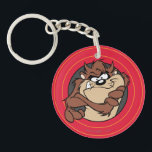 "TAZ™ Through LOONEY TUNES™ Circles Keychain<br><div class=""desc"">LOONEY TUNES™ 