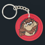 """TAZ™ Through LOONEY TUNES™ Circles Keychain<br><div class=""""desc"""">LOONEY TUNES™ 