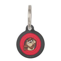 TAZ™ Through LOONEY TUNES™ Circles Pet ID Tag