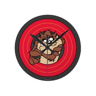 TAZ™ Through LOONEY TUNES™ Circles Round Clock