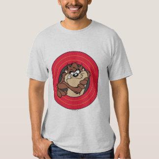 TAZ™ Through LOONEY TUNES™ Circles Tshirts
