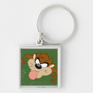 TAZ™ Tongue Out Keychain