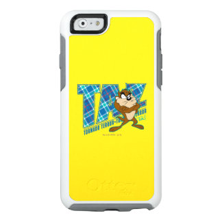 TAZ™ Tornado Terror Plaid OtterBox iPhone 6/6s Case