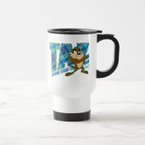TAZ™ Tornado Terror Plaid Travel Mug