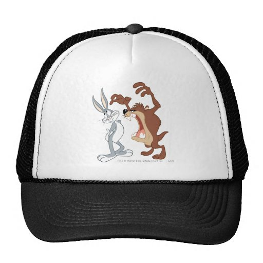 TAZ™ y Bugs Bunny no incluso que retroceden - Gorra