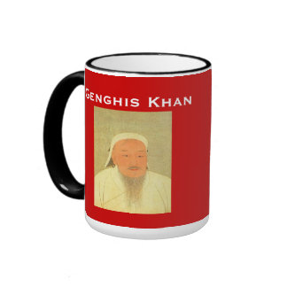 Taza/成吉思汗杯 de Genghis Khan* Taza A Dos Colores