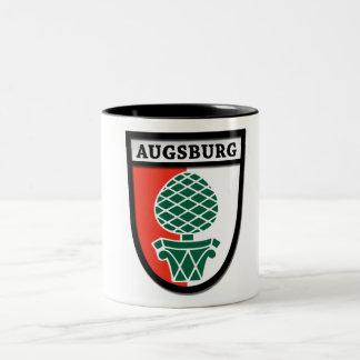 Taza 0010 del escudo de armas de Augsburg (Wappen)