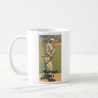 Taza 1911 del béisbol del vintage